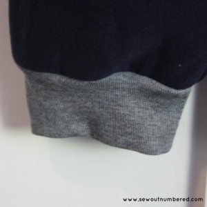 retro sweatpants cuff