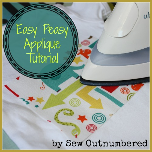easy peasy applique