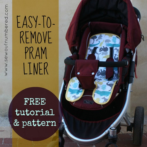 pram liner tutorial pattern