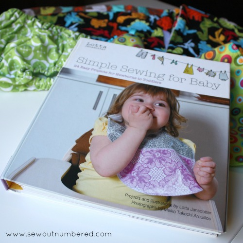 simple sewing for baby book