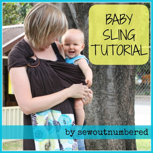 Sewing for Baby: Baby Sling Tutorial - Sew outnumbered