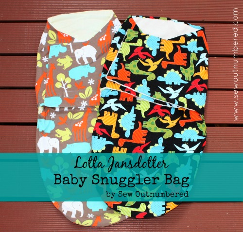 Sewing for Baby: Newborn snuggler bag - Sew outnumbered