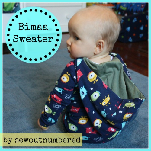 bimaa sweater baby boy sewing
