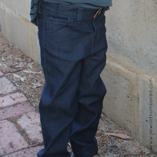 small fry jeans front