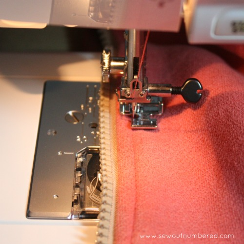 Mending a Zipper Tutorial | Sewoutnumbered