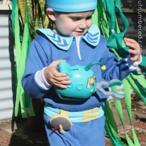 Octonauts birthday fun: Sewing for Captain Barnacles