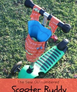 Guest post tutorial: The Sew Outnumbered Scooter Buddy
