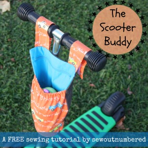The scooter buddy sewing tutorial small