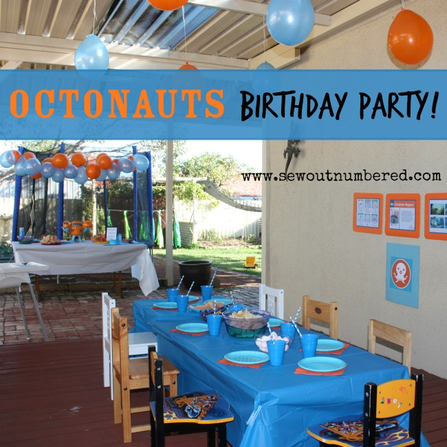 octonauts birthday party cover