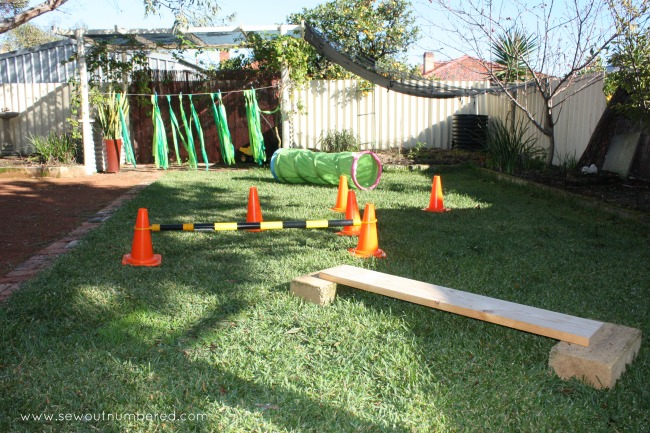 octonauts party game obstacle course