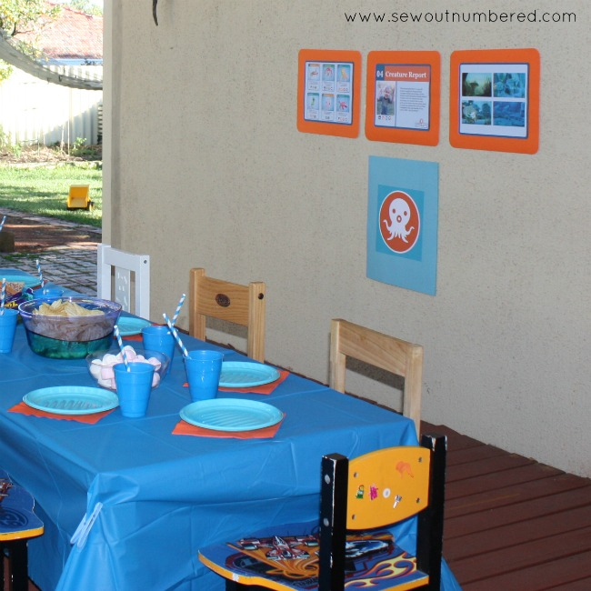 octonauts table and screens