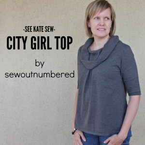Sewing a City Girl Top