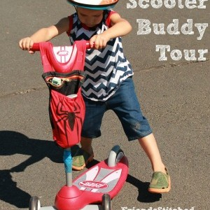 Scooter Buddy Blog Tour Day 4: Friends Stitched Together