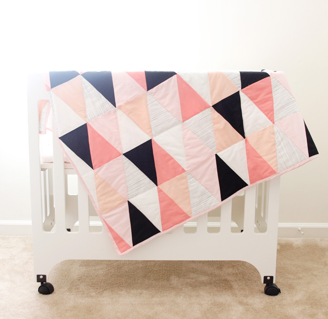 see kate sew triangle quilt