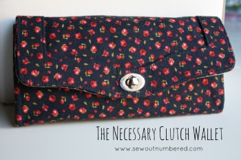 Sewing the Necessary Clutch Wallet