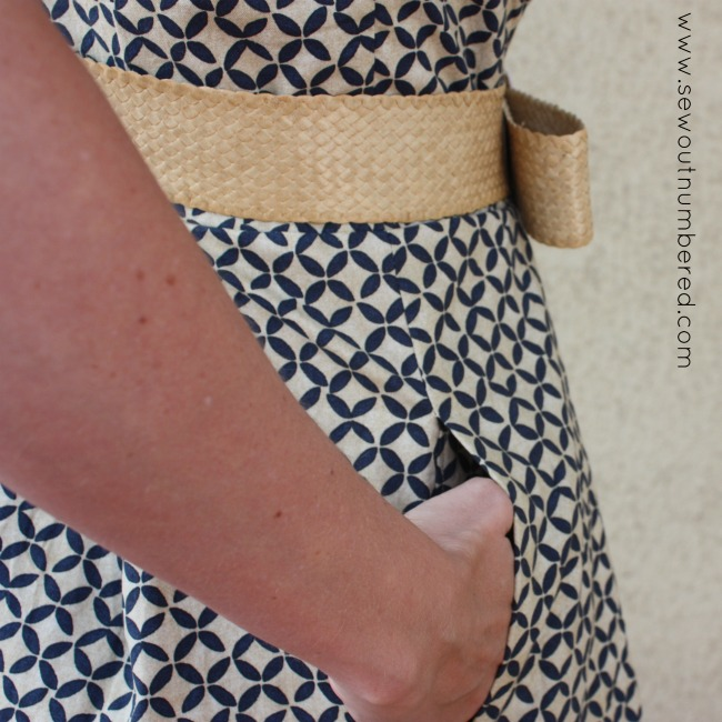 miss audrey dress pocket