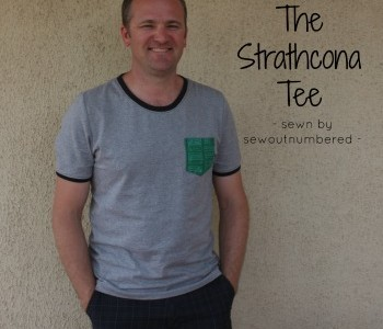 Men's sewing: A Strathcona tee