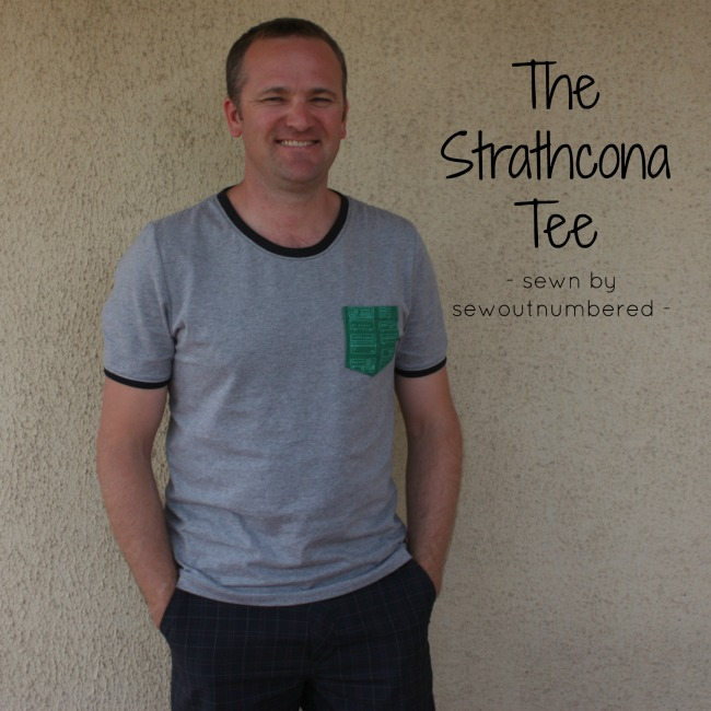 strathcona mens tee front