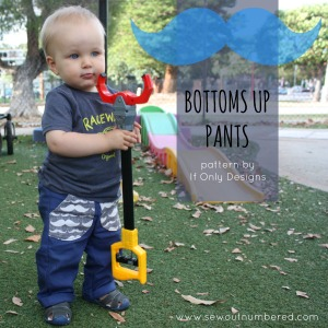Bottoms Up Baby Pants Pattern