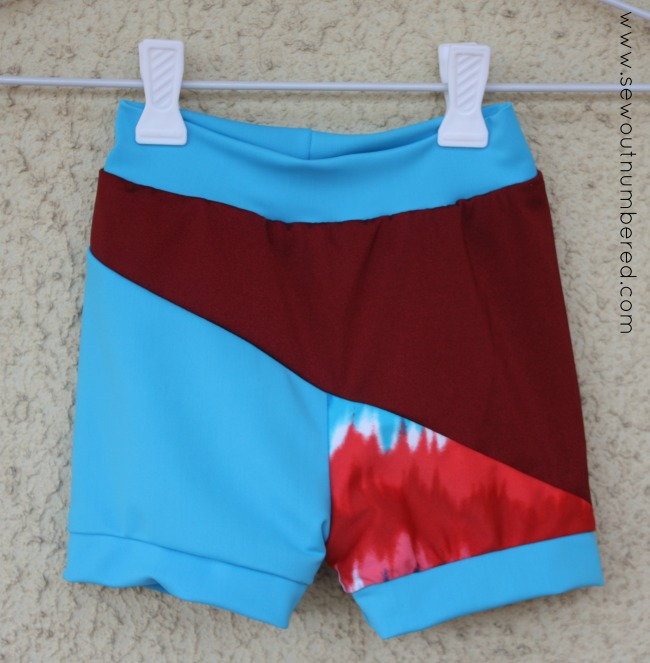 cloud 9 swimshorts front