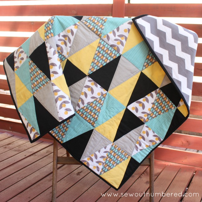 triangle quilt 1