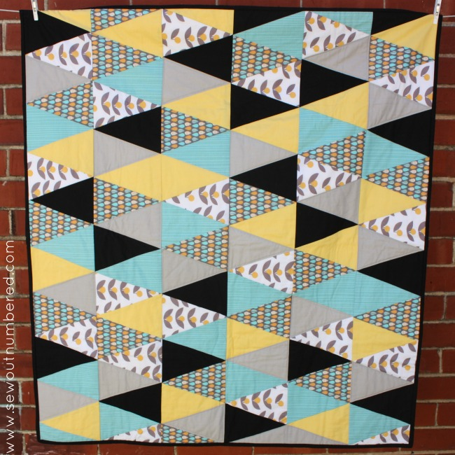 triangle quilt 4