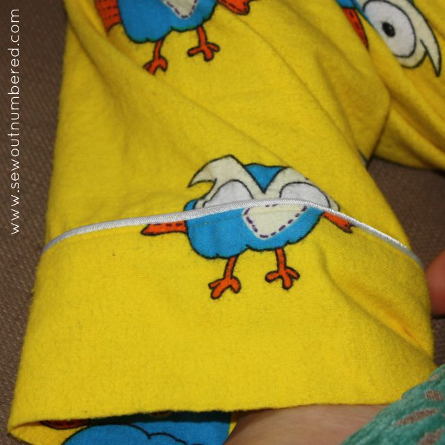 hoot pajamas pants cuff