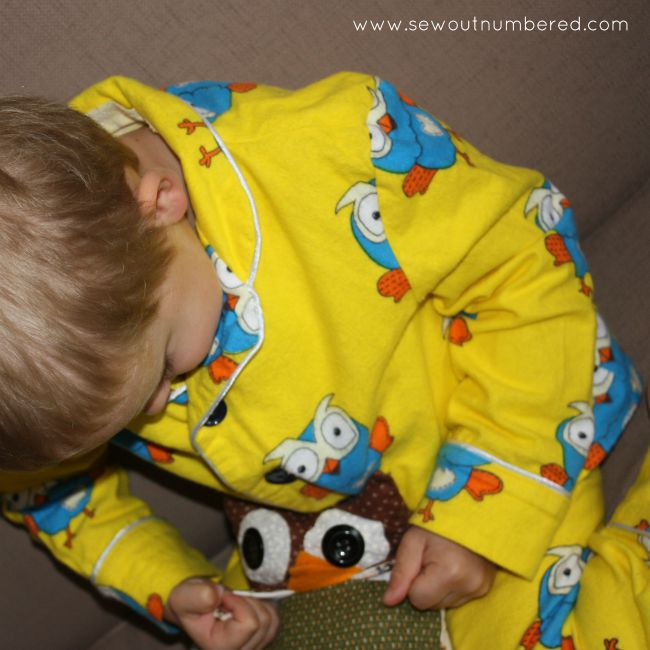 hoot pajamas top