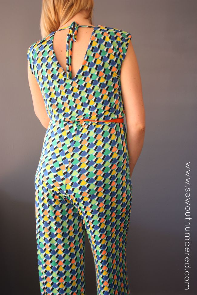 Sallie Jumpsuit back