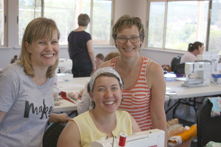 sewing retreat 2015 friends
