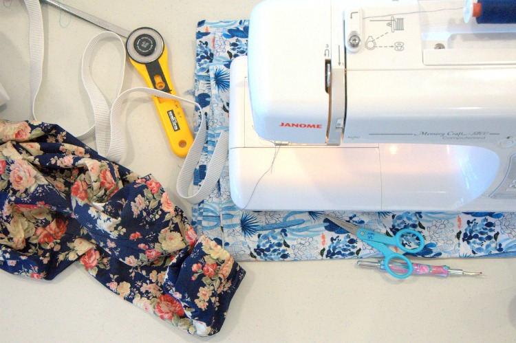 sewing retreat 2015 machine flatlay