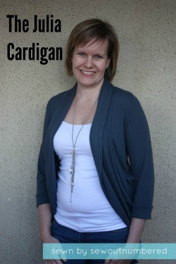 Sewing a Julia Cardigan |Sew outnumbered - a wardrobe staple!