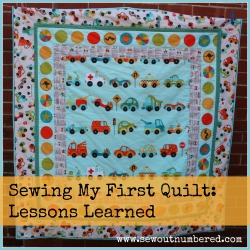 Riley Blake On the Go Quilt- sewoutnumbered